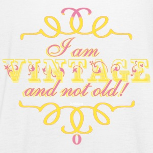 Vintage, not old - Pastel Tops - Frauen Tank Top von Bella