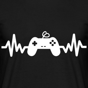 Gaming is life, geek,gamer,nerd  - Camiseta hombre