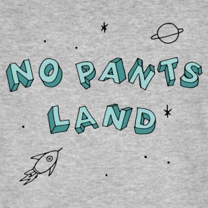 NO PANTS LAND (blau) T-Shirts - Männer Bio-T-Shirt