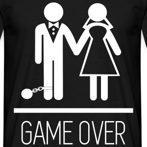Game over, Stag Do,stag,stag night,Couples - Men's T-Shirt