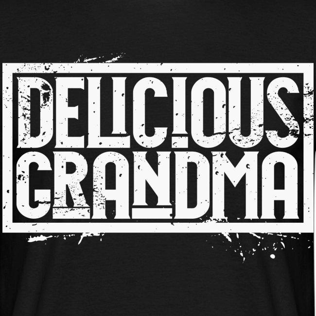 "Männer T-Shirt - ""Delicious Grandma white"""
