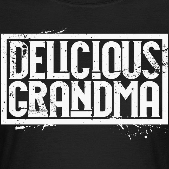 """Frauen T-Shirt - """"Delicious Grandma white"""""""