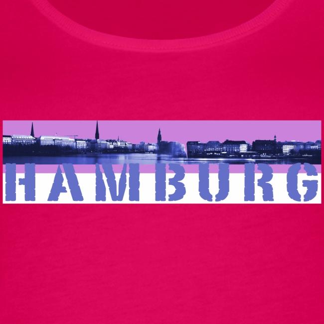 Hamburg: Binnen-Alsterpanorama