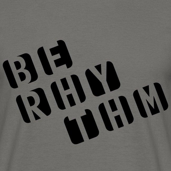 Be rhythm! Cube-Shirt (Herren)