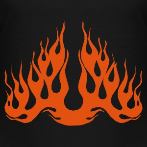 Flammen T-Shirts - Teenager Premium T-Shirt