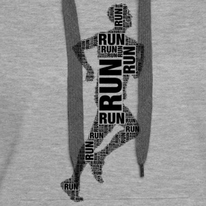 running Sweat-shirts - Sweat-shirt à capuche Premium pour femmes