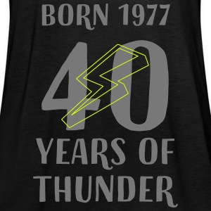 40 years of thunder Tops - Frauen Tank Top von Bella