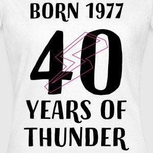 40 years of thunder T-Shirts - Frauen T-Shirt