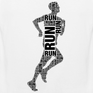 runner running Sports wear - Men's Premium Tank Top