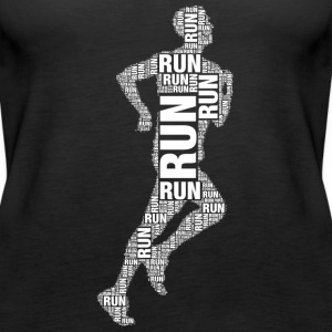 runner running Tops - Women's Premium Tank Top