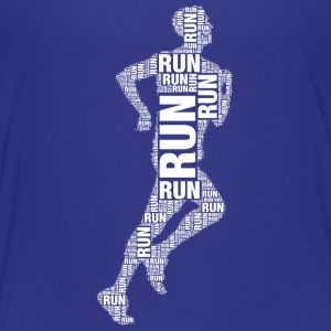 runner running Shirts - Teenage Premium T-Shirt