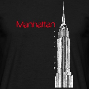 EMPIRE STATE BUILDING IN MANHATTAN - Men's T-Shirt