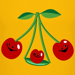 Three cherries Tee shirts - T-shirt Premium Enfant