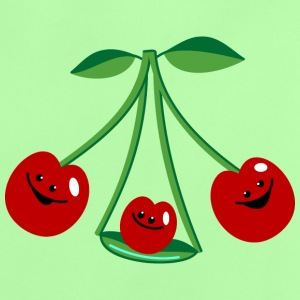 Three cherries Babytröjor - Baby-T-shirt
