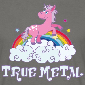 true metal T-Shirts - Männer T-Shirt