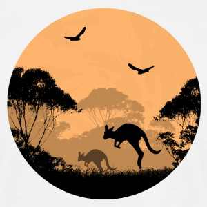 Australia  - Outback in the night T-Shirts - Männer T-Shirt