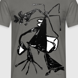 Monotype-print/figure-41 - Männer T-Shirt