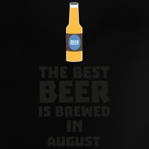 Best beer is brewed in August. Sw06j Baby Shirts  - Baby T-Shirt
