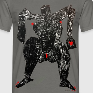 Monotype-print/figure-28 - Männer T-Shirt
