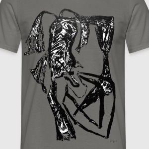 Monotype-print/figure-39 - Männer T-Shirt