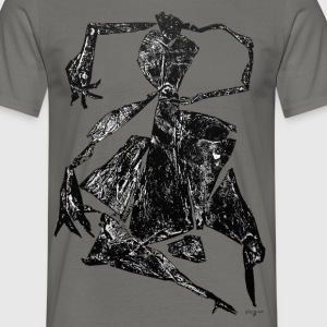 Monotype-print/figure-38 - Männer T-Shirt