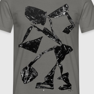 Monotype-print/figure-34 - Männer T-Shirt