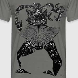 Monotype-print/figure-24 - Männer T-Shirt