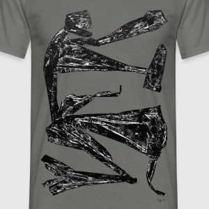 Monotype-print/figure-22 - Männer T-Shirt
