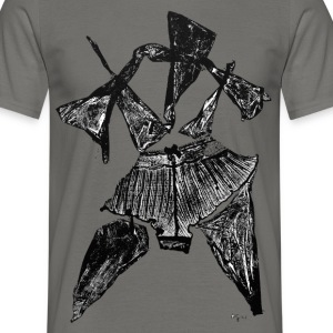 Monotype-print/figure-19 - Männer T-Shirt