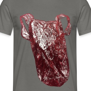 Plastic-bag red - Männer T-Shirt