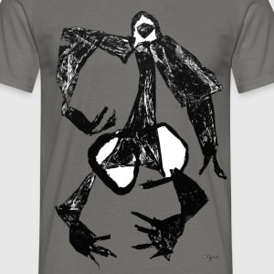 Monotype-print/figure-16 - Männer T-Shirt