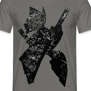 Monotype-print/figure-6 - Männer T-Shirt