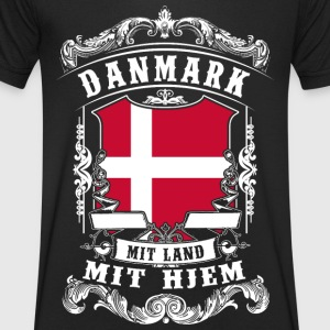 Danmark - Denmark - Denmark T-Shirts - Men's V-Neck T-Shirt