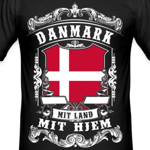 Danmark - Denmark - Denmark T-Shirts - Men's Slim Fit T-Shirt