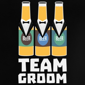 Team brudgom Beerbottles Sqf18 Baby T-shirts - Baby T-shirt