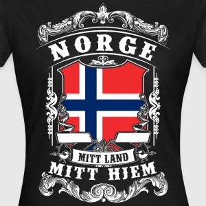 Norge - Norge - Norge T-shirts - T-shirt dam