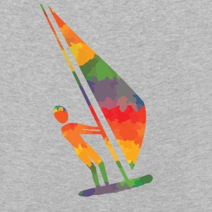 Colored wind surfers of long sleeve shirts - Kids' Premium Longsleeve Shirt