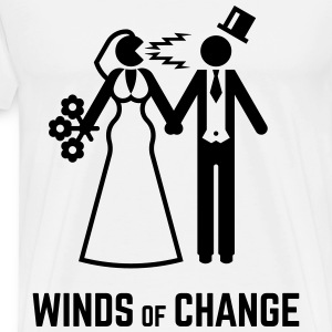 Winds Of Change (Stag Night Bachelor Party Groom) T-Shirts - Men's Premium T-Shirt