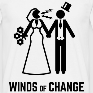 Winds Of Change (Stag Night Bachelor Party Groom)  - Men's T-Shirt