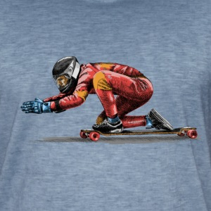 Longboard Tee shirts - T-shirt vintage Homme