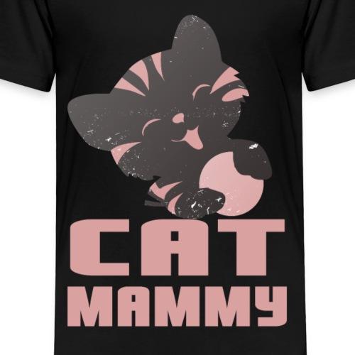 Katzen T Shirt mit Katzenmotiv Katzenmama