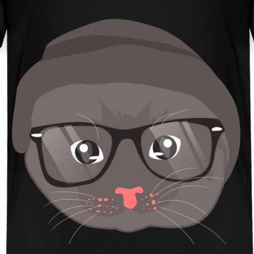 Katzen T Shirt mit Katzenmotiv Katzengesicht 2