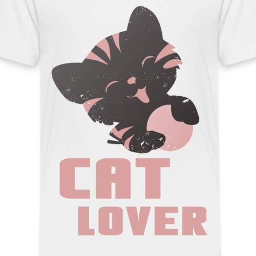 Katzen T Shirt mit Katzenmotiv Katze Liebhaber 2