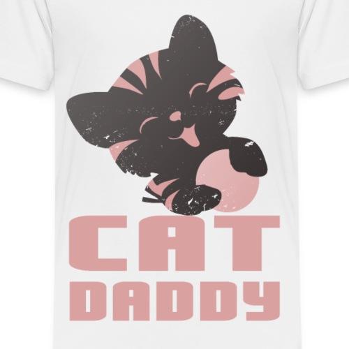 Katzen T Shirt mit Katzenmotiv Katze daddy