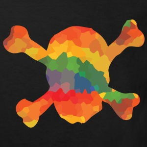 Coloured skull T-Shirts - Kids' Organic T-shirt
