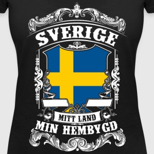 Sverige - Sweden - Schweden T-Shirts - Women's V-Neck T-Shirt