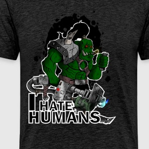 I hate Humans - T-shirt Premium Homme