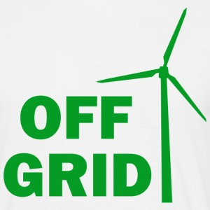 Off Grid Green - Men's T-Shirt