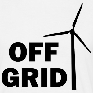 Off Grid in black - Men's T-Shirt