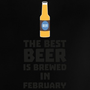 Best beer is brewed in February. S4i8g Baby Shirts  - Baby T-Shirt